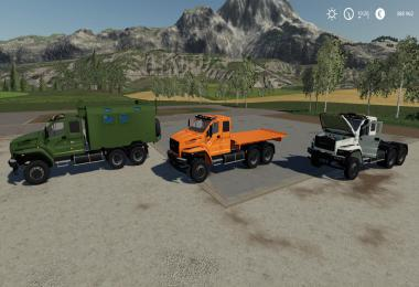 Pack Ural Next T25 420 6X4 v1.0.0.0