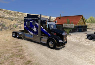 Peterbilt 579 120 Custom Sleeper Mini Skinpack v1.0