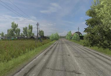 Road M5 Map 1.37