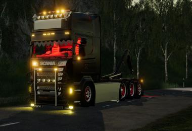 Scania r580 hooklift v1.0.0.0