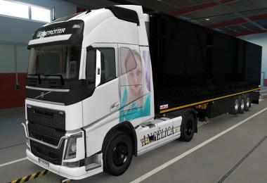 Skin Volvo Fh16 2012 Angelica 1.37