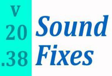 Sound Fixes Pack 1.38 v20.38.1