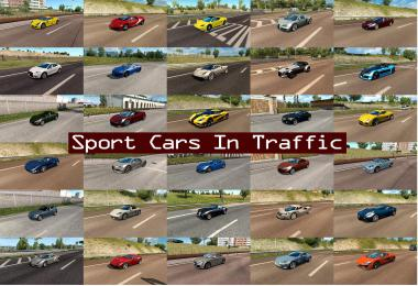 Sport Cars Traffic Pack by TrafficManiac v6.3