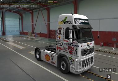 Truck Racing Skin Petrol for Volvo FH16 1.37.x
