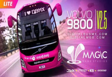 VOLVO 9800 LITE by DIGITALMGS 1.37 - 1.38