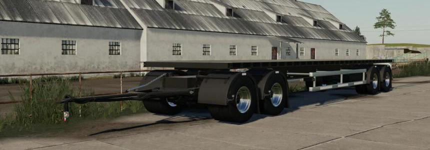 NMC Flatbed Trailer v1.0.0.0