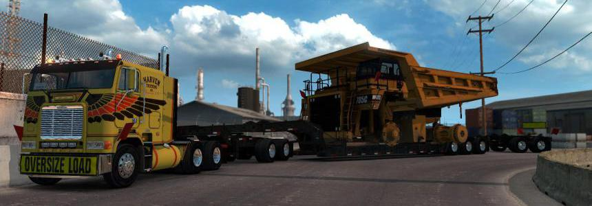 Caterpillar 785C Mining Truck for Heavy Cargo Pack DLC 1.38.x