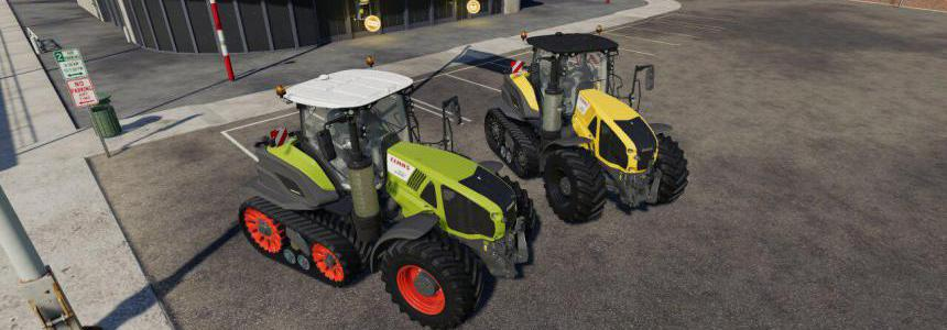 Claas AXION 900 SERIES TERRA TRAC v1.0.0.1