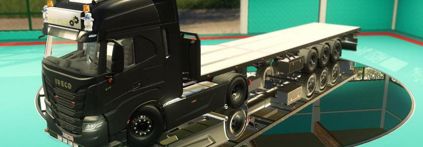 Flatbed Holland Style trailer v1.0.0.0