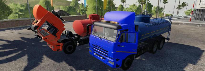 Kamaz 65115 Fuel truck v2.0