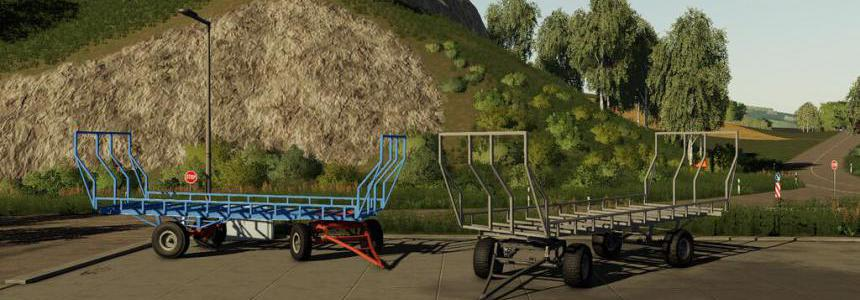 Lizard Homemade Bale Trailer v1.0.0.0