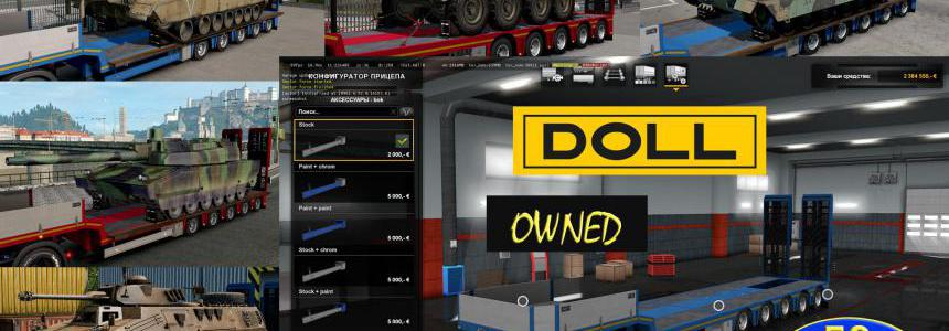 Military Addon for Ownable Trailer Doll Panther v1.3.3