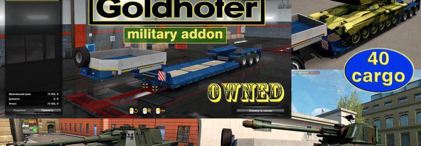 Military Addon for Ownable Trailer Goldhofer v1.4.3