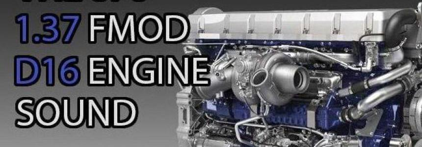 VOLVO VNL670 D16 ENGINE SOUND v1.0