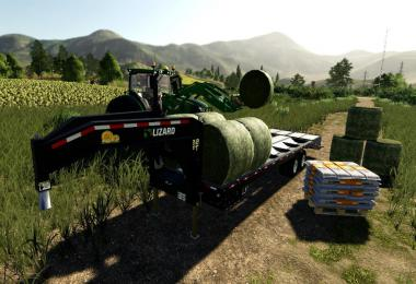 22Ft Gooseneck Baling Trailer v1.0.0.0