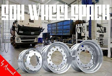 50k Wheels Pack for ETS2 1.37.x v2.0
