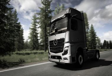 Mercedes Benz New Actros MP5 Unlocked Version 1.37