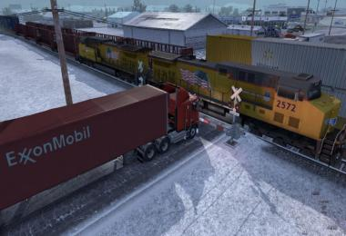Improved Trains compatibility addon for Real Traffic Density by Cip 1.38b