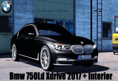[ATS] BMW 750Ld Xdrive 2017 + Interior v1.2 by BurakTuna24
