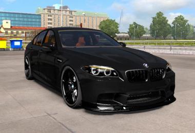 BMW M5 F10 + Interior v1.1 by Buraktuna24 1.37.x