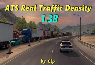 [ATS] REAL TRAFFIC DENSITY BY CIP v1.38.a