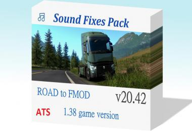 [ATS] Sound Fixes Pack v20.42 1.38.x