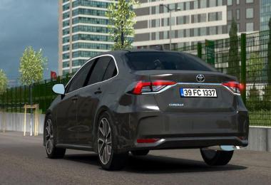 [ATS] Toyota Corolla 2020 v1.1 1.38.x