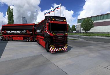 BDF Tandem Mammoet Scania skin v1.0