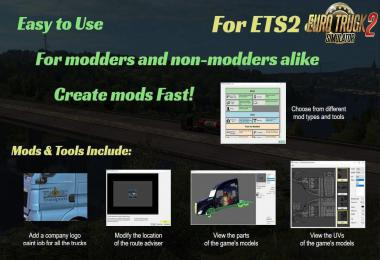 Bens Easy Modding - Create own mod + Tools for modders 1.37