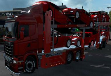CARCARRIER AUTOTRANSPORTER TRUCK AND TRAILER 1.37