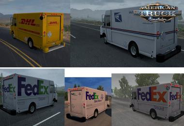 Chevy Step Van Pack in AI Traffic v1.0 1.38.x