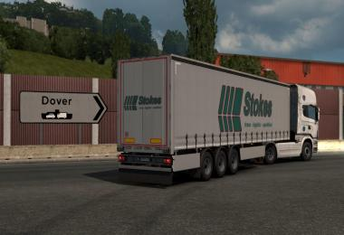 Classic SCS Company Trailer Skins for SCS Box Trailer v1.0