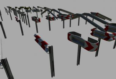 Crash Barriers A Profil Set (Prefab) v1.0