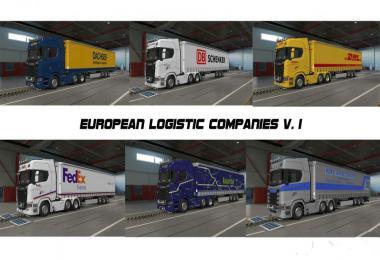 European Logistic Companies v1.0