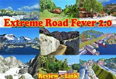 Extreme Road Fever v2.0 ERF Map For 1.36 & 1.37