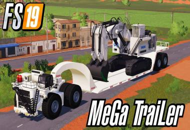 Miner's MeGa TraiLeR Bigggest Low Loader Ever v0.8
