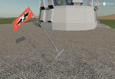 FS19 Red vs blue team flags v1.0