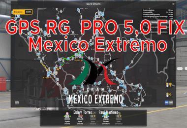 GPS RG PRO FIX Mexico Extremo v5.0