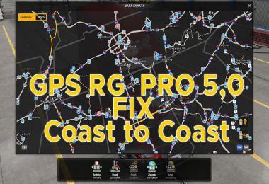 GPS RG PRO v5.0 FIX Coast to Coast