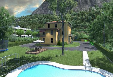 House in Italy with garage, refuel, parking and service [1.37+] 1.0