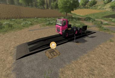 Hydraulic Ramp With RepairShop v1.0.0.0