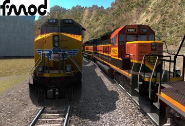 Improved Trains v3.5 for ATS 1.38.x