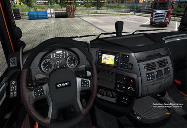 Interior for Daf XF Euro6 v1.0