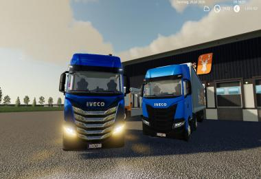 Iveco SWay 2020 Multicolor Update v1.1