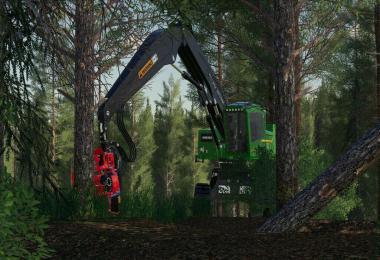 John Deere 959MH Tracked Harvester v2.0.0.0