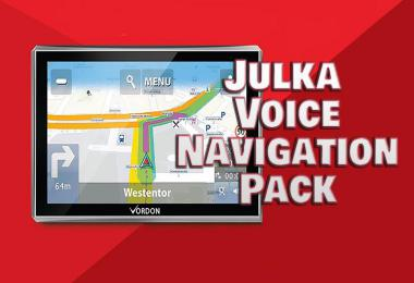 Julka Voice Navigation Pack v1.0