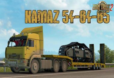KamAZ 54-64-65 + Interior v1.1 1.38.x