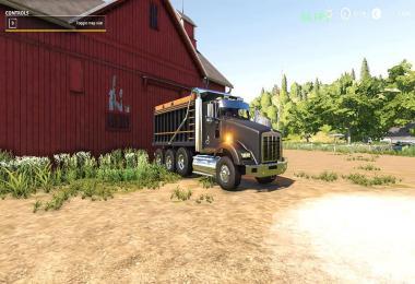 Kenworth t800 dump truck v1.0.0.2