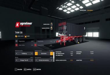 Kroeger TAW 30 Umbau v1.0.0.0