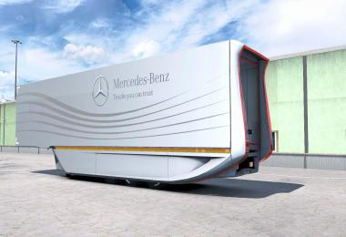 Mercedes AeroDynamic Trailer v1.2